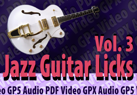 Jazz Guitar Licks Vol.3